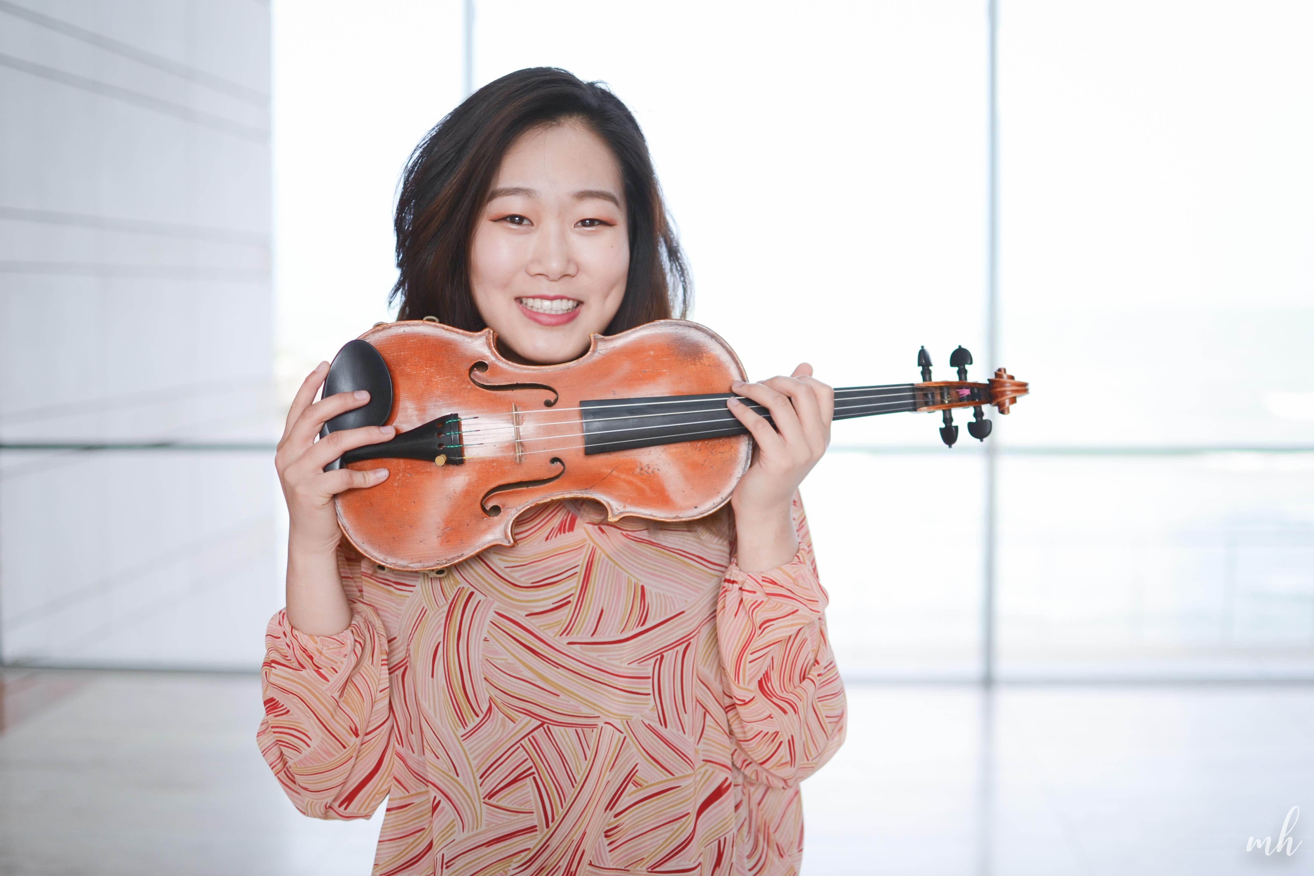 Musician Spotlight: Hannah Chou, Orchestra Management Fellow